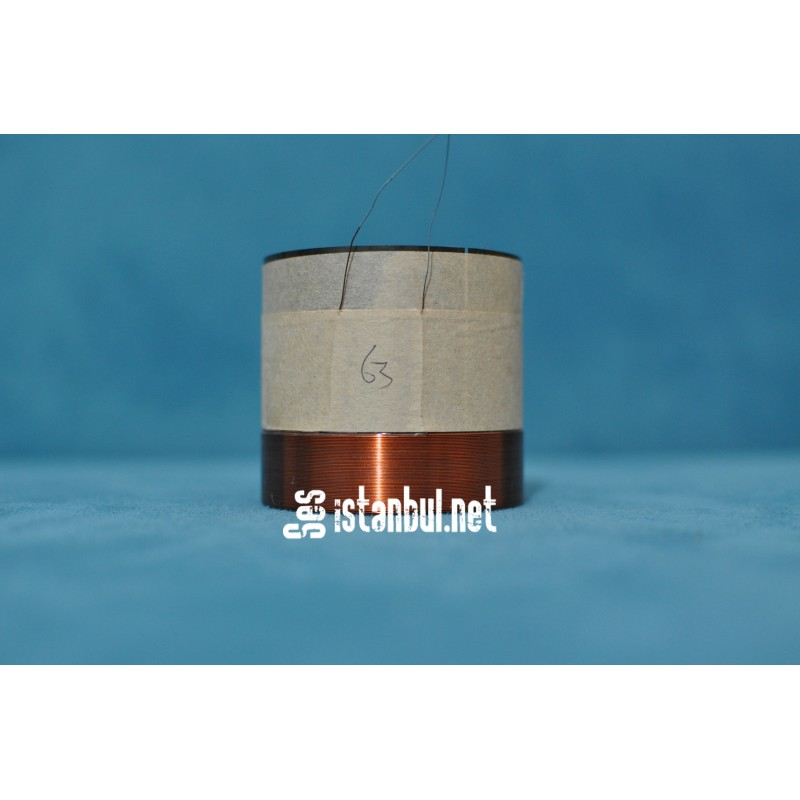 63mm Speaker Voice Coil-Repair Parts