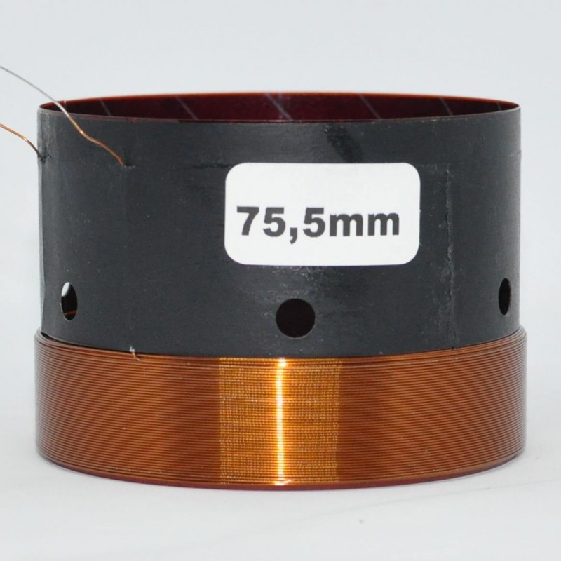 75.5mm Speaker Voice Coil-Repair Parts
